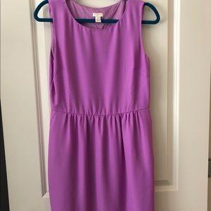JCrew cinched waist dress